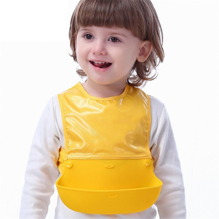 Plastic Waterproof Baby Bib Apron Babador Para Menino Best