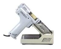 Фирменная Новинка Электрический отпайки горячего воздуха пистолет набор инструментов для ремонта S 995A 100 Вт высокое качество