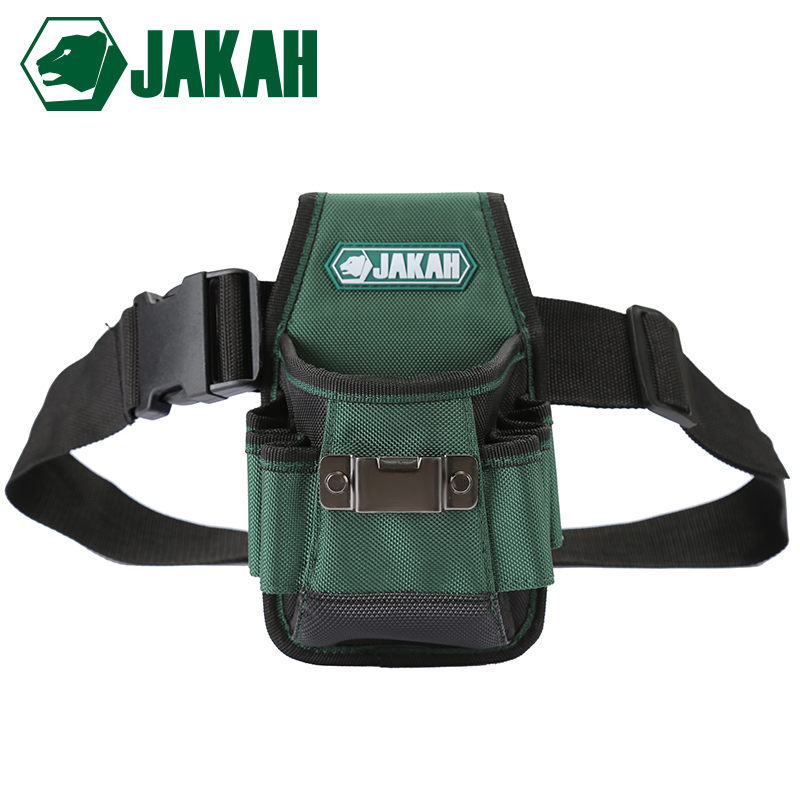 JAKAH JK-019 Multifunction Belt Tool Pouch Tool Holder Electrician Waist Tool Bag Convenient Work Organizer Free Shipping