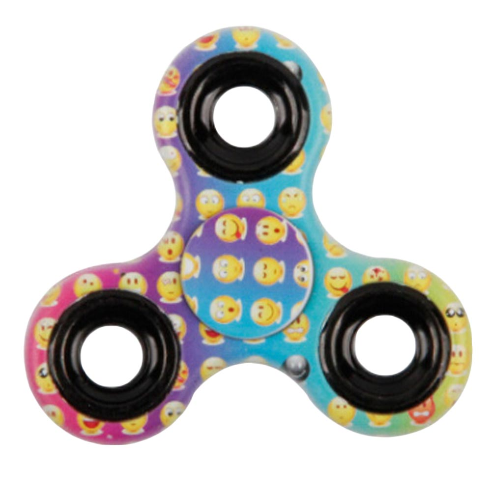 emoji Fidget Spinner Toys ABS EDC Hand Fidget Spinner For Autism and ADHD Kids/Adult Anti Stress spinner