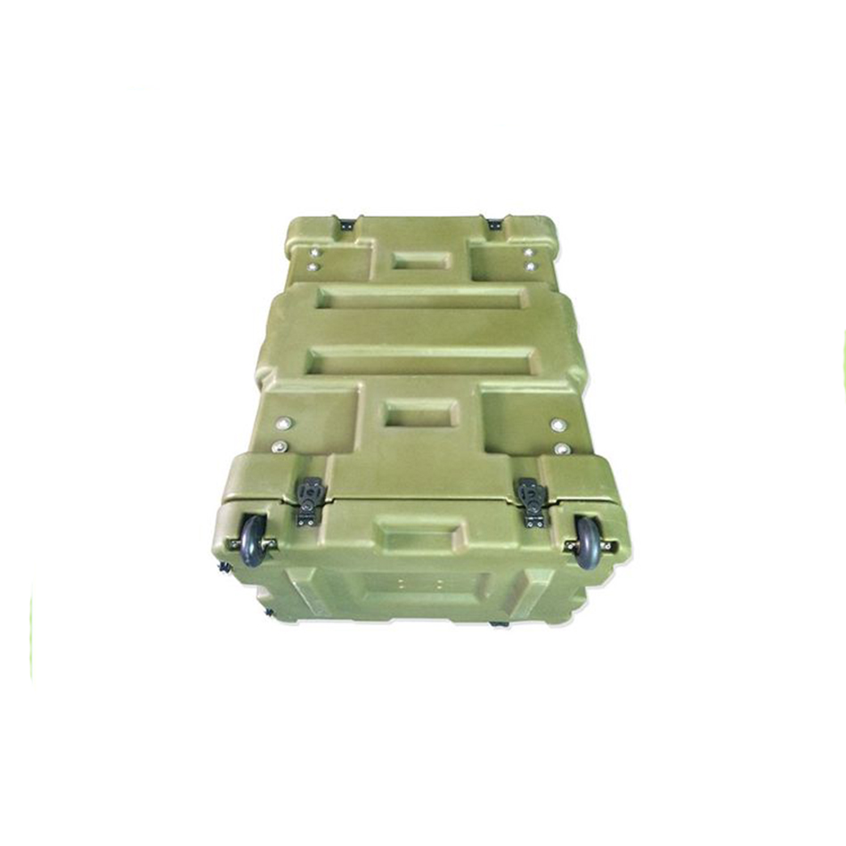 Tricases Factory New Style Military Standard Waterproof Shockproof Military 19 Inches  Rack Cases RU060