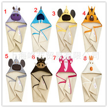 Spring 2014 Towel Baby Blankets Towels Animal Shapes Bathrobe For Boy