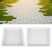 Concrete Plastic Pavement Mold DIY Path Maker Mold Paving