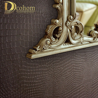 Alligator Pattern PVC Vinyl Wallpaper Three Dimensional Photo Wall Paper Roll Wall Modern Wallpaper For Background