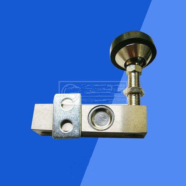 2 Т Плоские платформы масштаба давление датчика взвешивания С экраном Кабеля Небольшой loadometer консольной балки YZC-320c 5-12 В DC