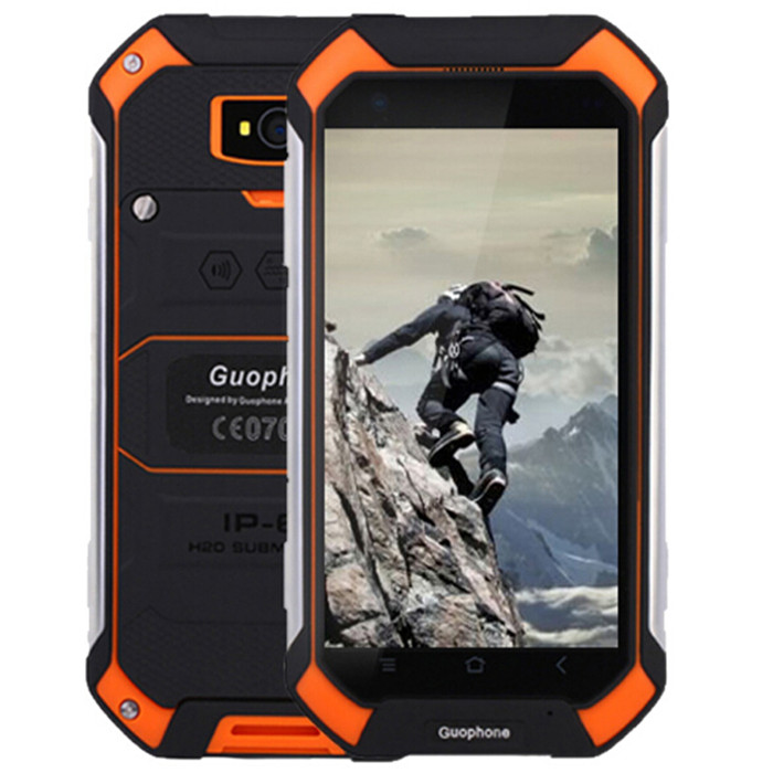 "bilder für Guophone V19 Wasserdicht Stoßfest Smartphone 4,5 ""Gorilla Screen MTK6580 Quad Core Android 6.0 1 GB + 8 GB 8MP 4500 mAh Handy"