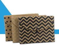 MoeTron Fashion Linen Cloth Expanding File Folder A4 Document Bags For Women File Organizer Bag For Documents
