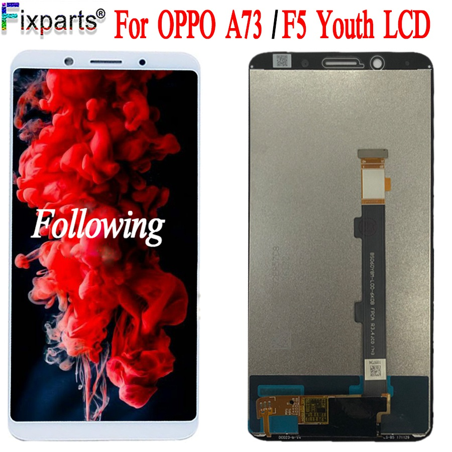 Original For <font><b>Oppo</b></font> <font><b>F5</b></font> Youth LCD <font><b>Display</b></font> + Touch Screen Digitizer Assembly Replacement Parts <font><b>OPPO</b></font> A73 A73T / <font><b>F5</b></font> Youth CPH1727 LCD image
