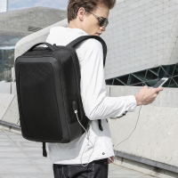 Men's Business Backpack Travel Waterproof Laptop Backpack USB Charging Office Men's Backpack Boy girl college school bag