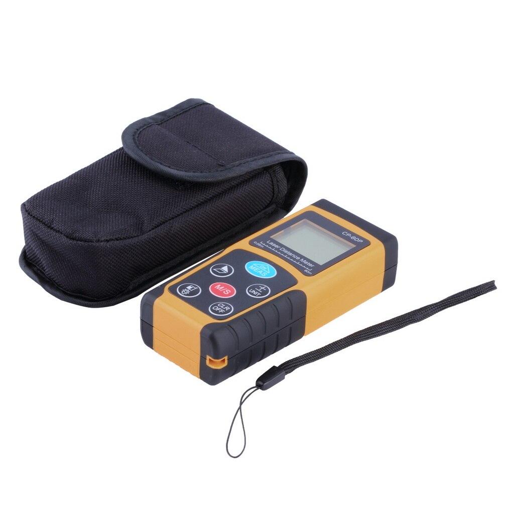 ФОТО Popular New CP-60P Mini 60M Handheld Digital Laser Distance Meter Range Finder Diastimeter