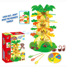 Creative Dump Monkey Falling Toy Tumbling Monkeys Party & Family Board Game Parent-child Interactive Educational Toys Kids Gifts