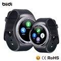 Frete grátis AndriodSmart esportes relógio do bluetooth Relógio de pulso com suporte do cartão SIM Smartwatch para andriod smartphone
