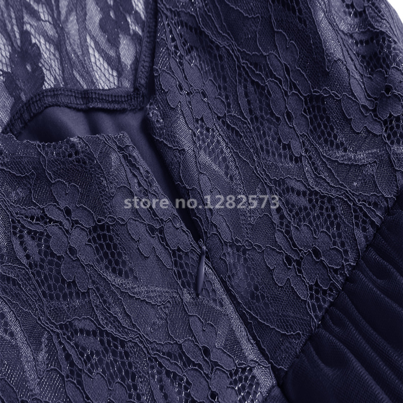 e2de944cef4 In Stock Navy Blue Lace Tulle Cocktail Dresses Elegant Short Pink Cheap  Simple Formal Dress Wine Red O Back Prom Gown-in Cocktail Dresses from  Weddings ...