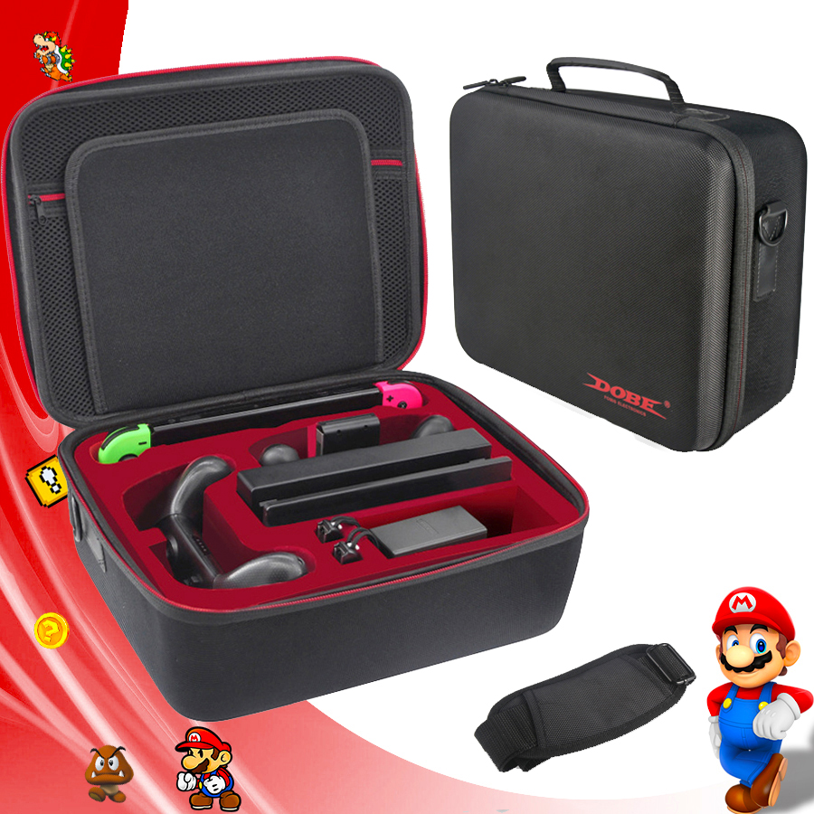 Nintend Switch Accessories Carry Storage Portable Big Bag Nintendoswitch Travel Protective Case for Nintendo Switch Console