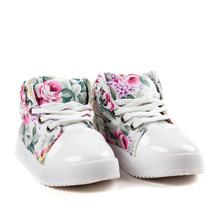 Spring Autumn Kids Girls Limited Rubber New Fashion Girls Children's Shoes Cotton Casual Soft Canvas Korean Flower Princess
