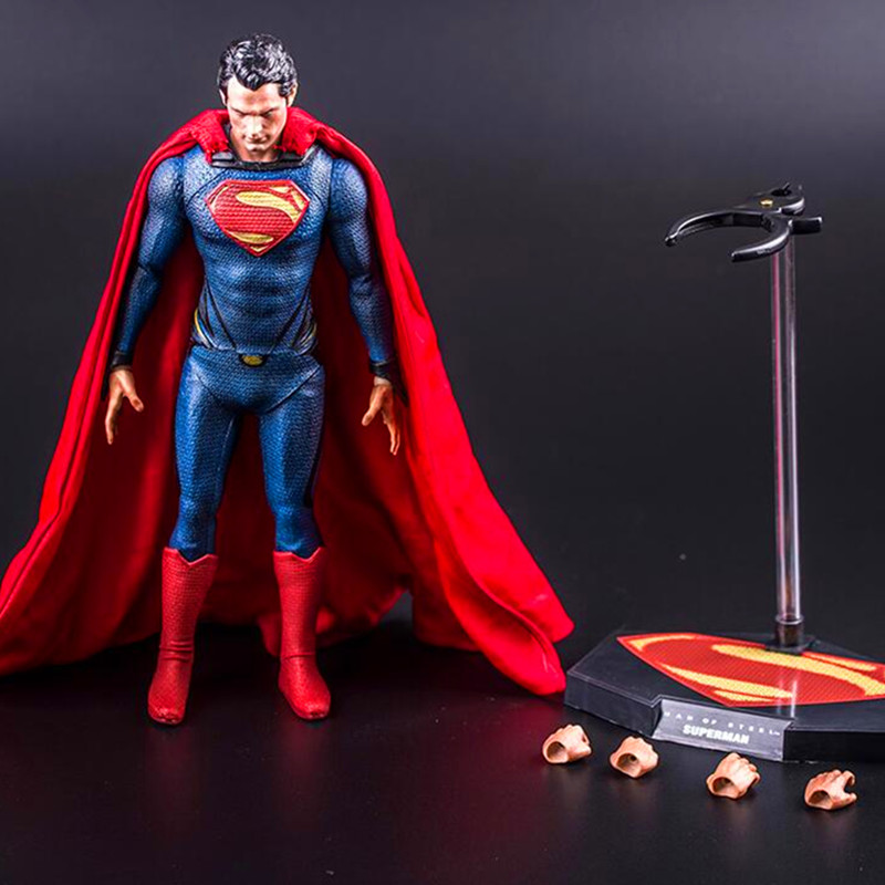Batman v Superman: Dawn of Justice Superhero Henry Cavill Superman PVC Action Figure Collectible Model Toy G31 crazy toys batman v superman dawn of justice variant pvc action figure collectible model toy 27cm kt2281