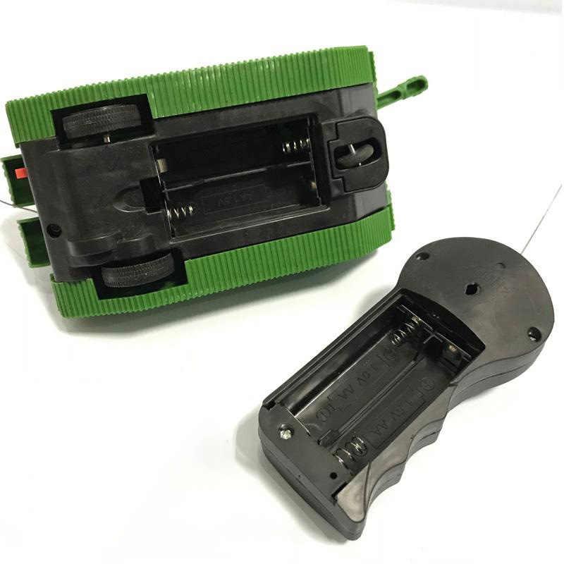 Rc タンクリモートコントロールカーラジオコントロールタンクキット Rc 追跡車両 1/16 1:16 部品 Rc 軍事タンク Diy 2wd ロボット車の少年のおもちゃ