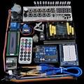 Advanced Starter Kit LCD Servo Motor Dot Matrix Breadboard LED Basic Element Pack Compatible with Arduino