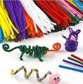 100 шт./компл. детские Развивающие Игрушки DIY игрушки материалы shilly-палки Плюшевые Палку ручной искусство Елочные игрушки