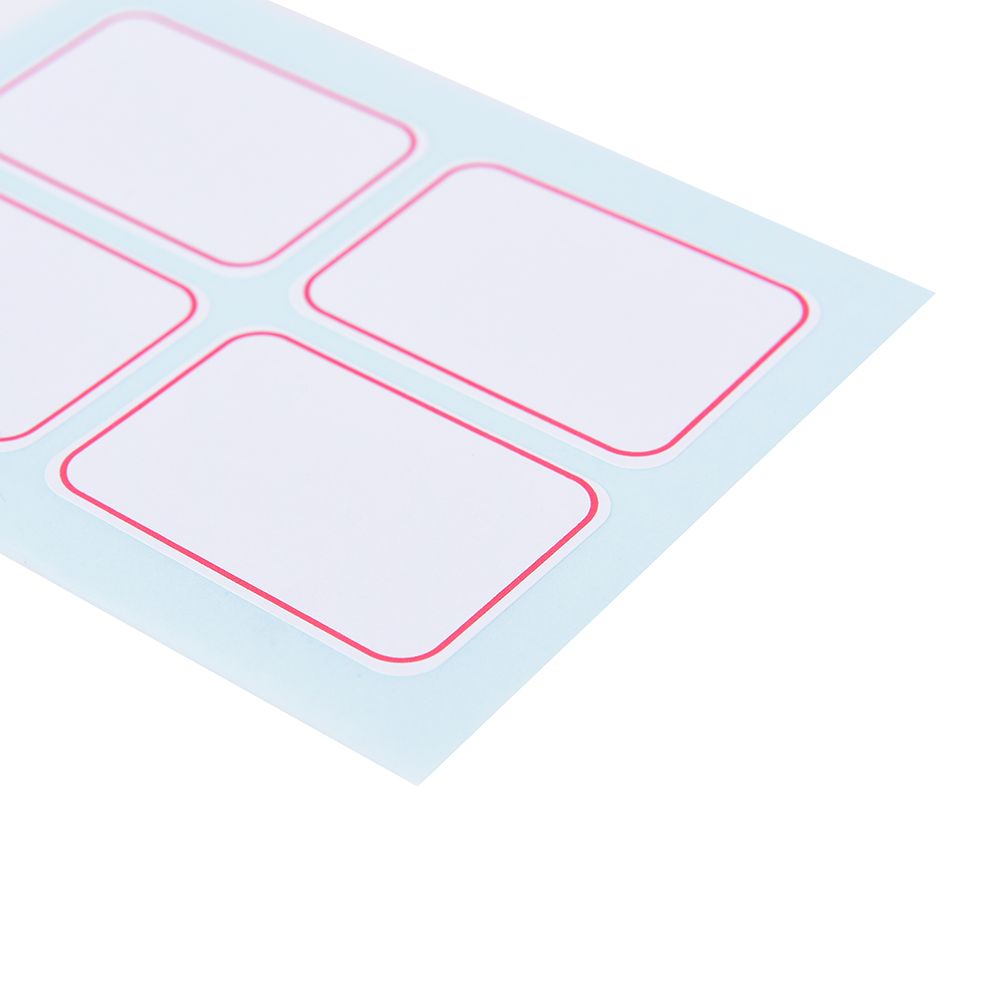 12 Sheets / Pack  Huge Self Adhesive Sticky Label Writable Name Stickers Blank Note Labels Dimension:35x50mm12 Sheets / Pack  Huge Self Adhesive Sticky Label Writable Name Stickers Blank Note Labels Dimension:35x50mm