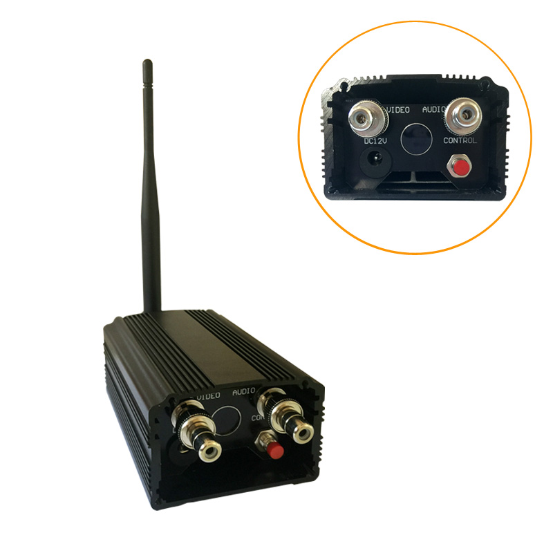 3-6km Security Wireless Video Transmitter And Receiver 1200Mhz Long Distance AV Sender CCTV Audio Video Transmission System