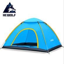 Туристическая палатка на 3 4 человек 200*180*130 см