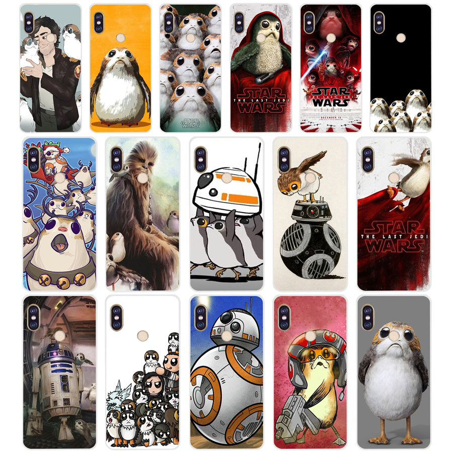 173SD <font><b>Star</b></font> <font><b>Wars</b></font> The Last Jedi Porgs Soft Silicone Tpu <font><b>Cover</b></font> phone Case for <font><b>xiaomi</b></font> <font><b>redmi</b></font> 5A 5Plus <font><b>note</b></font> 5 5A <font><b>Pro</b></font> mi <font><b>6</b></font> image
