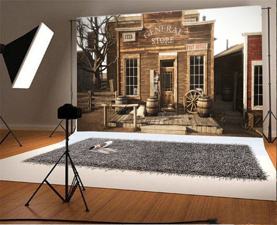 office backdrops. Laeacco Post Office Store Wooden House Scene Photography Backgrounds Vinyl Custom Camera Backdrops For Photo Studio-in Background From Consumer O
