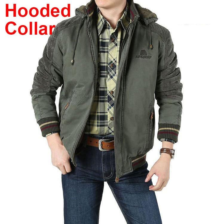 2018 USN Wet Weather Parka Navy WW2 Deck Suit Military Mens Hood Cotton Jackets Vintage Coat