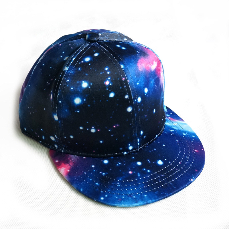 2017 Brand Snapback Hat Blue Space Gorras Hip Hop Women Men Hats Fashion Baseball Cap Bone Masculino Dad Caps Wholesale In From Mens
