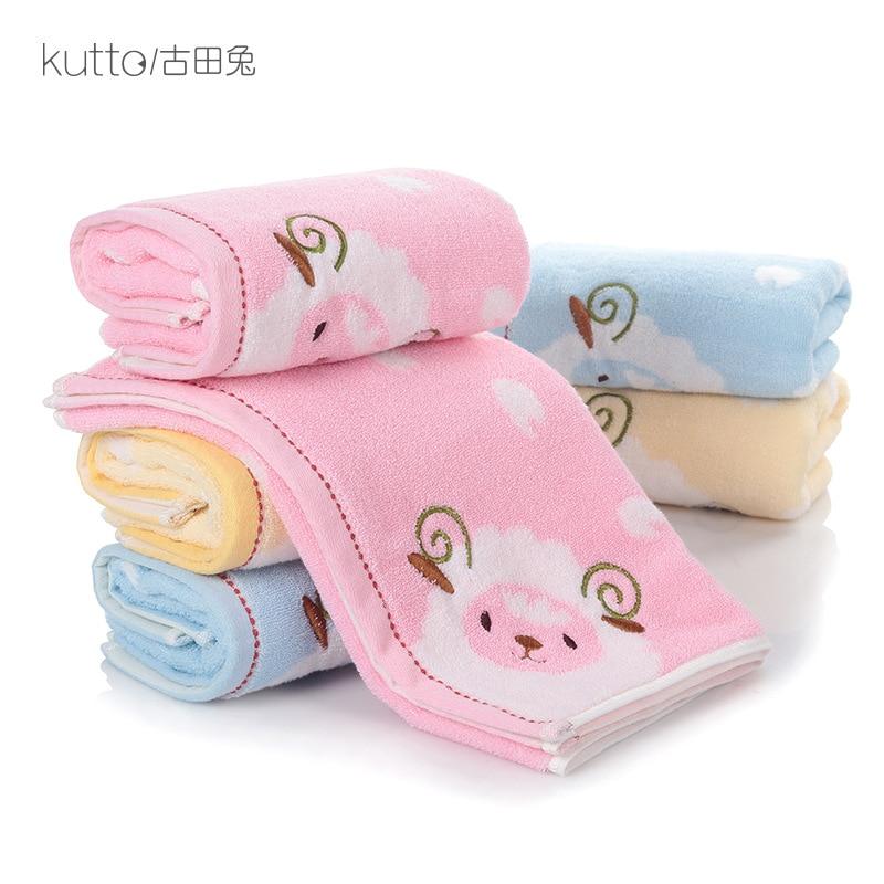 Carré bébé serviette mignon bébé visage microfibre absorbant séchage bain serviette de plage gant de toilette maillots de bain bébé serviette coton enfants serviettes
