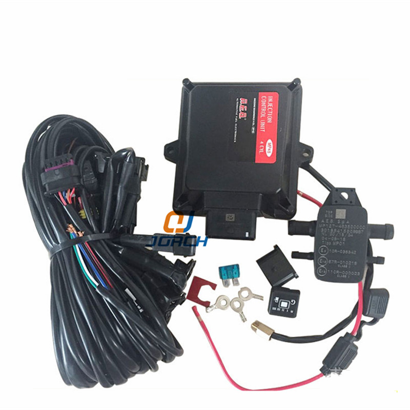 NEW Gas ECU kits for Vehicle gas CNG LPG electronic control system <font><b>MP48</b></font> computer vehicle oil to gas electric control refit kit image