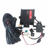 Nuevo Gas ECU kits para vehículo gas CNG LPG sistema de control electrónico MP48 ordenador vehículo aceite a gas kit de reajuste de control eléctrico