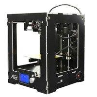 (Корабль из DE) Анет A3 Высокая точность полный собраны Настольный 3D принтеры Алюминиевый Экструдер широкоформатной печати Размеры Upgraded плат