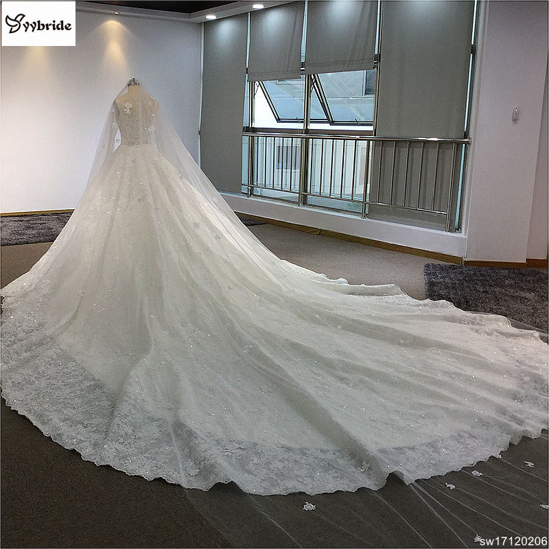 sw17120206-8 surmount custom made royal train wedding dresses 2018 ball gown long sleeves robe de soiree long robe de mariage wedding dresses Surmount Custom Made Royal Train Wedding Dresses 2018 Ball Gown Long Sleeves robe de soiree Long robe de mariage Wedding dresses HTB1C8Gtgh6I8KJjy0Fgq6xXzVXam