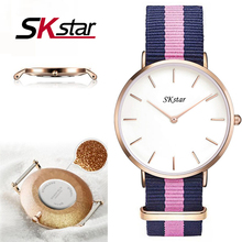SKatar Mode dw Montres Chaude Hannah Martin Marque de Femmes Hommes de Quartz Montre-Bracelet Femmes Hommes Montre-Bracelet Cadeau Montre Reloj