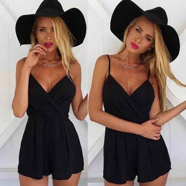 Mono 2019 verano Top mujer Sexy Playsuit Bodycon Party Jumpsuit mujer Romper pantalones Clubwear mujer traje Playsuit