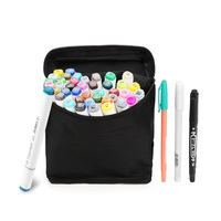 Touchnew 30 Coloured Art And Graphic Drawing Manga Twin Tip Alcohol Art Sketch Marker Pen Pencil