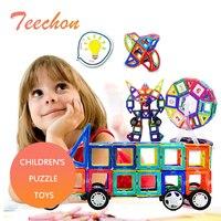 New 110pcs Mini Magnetic Designer Construction Set Model Building Toy Plastic Magnetic Blocks Educational Toys For