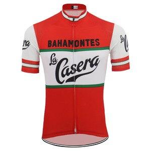 Image 2 - גברים קצר שרוול רכיבה על אופניים ג רזי ropa Ciclismo אופניים ללבוש ג רזי רכיבה על אופניים ביגוד מאיו חיצוני אופניים בגדים