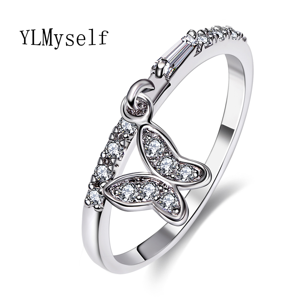 bague in gifts anel and jewelry girls wedding new fashion accessory christmas women for white luxury gold feminino from rings butterfly item