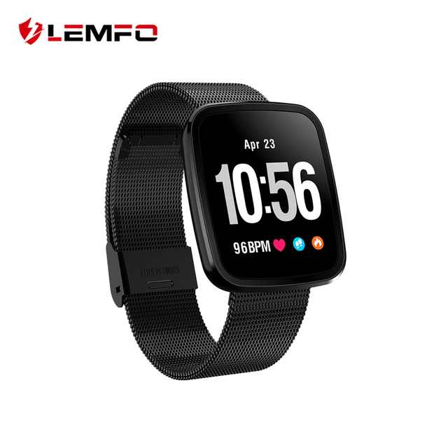 LEMFO Professional Sport Fitness Bracelet Healthy Smart Band Blood Pressure Heart Rate Monitor Watch 15 days Standby For Men