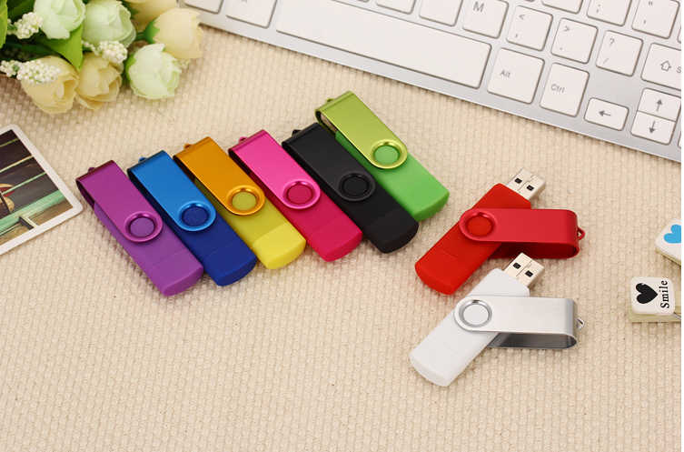 Pen drive otg usb flash drive techkey 8gb 16gb 32gb 64gb 128gb para teléfono móvil android flash memory stick pendrive mini usb 2,0