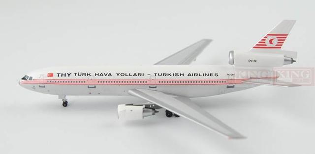 Aeroclassics Turkey Airlines TC-JAY 1:400 DC-10-30 commercial jetliners plane model hobby