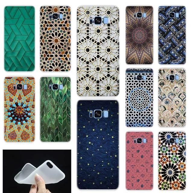 Morocco Mô Hình Nghệ Thuật Mềm TPU Silicone Trường Hợp Điện Thoại Bìa Đối Với Samsung Galaxy S6 S7 Cạnh S8 S9 Cộng Với S10 cộng với lite m10 M20 Lưu Ý 8 9