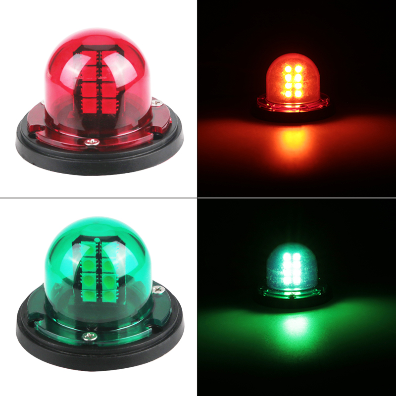 Cheap Sale 1pair 12v Marine Boat Yacht Led Bow Navigation Light Stainless Steel Red Green Sailing Signal Light Atv,rv,boat & Other Vehicle Automobiles & Motorcycles