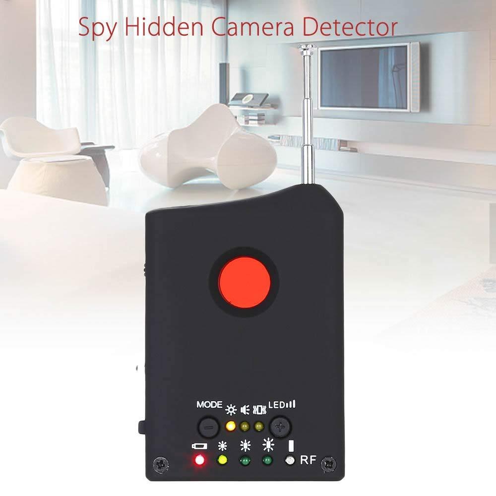 Anti-Spy Detector RF Signal Detector Hidden Camera GSM Audio Bug Detector GPS Lens RF Signal Finder