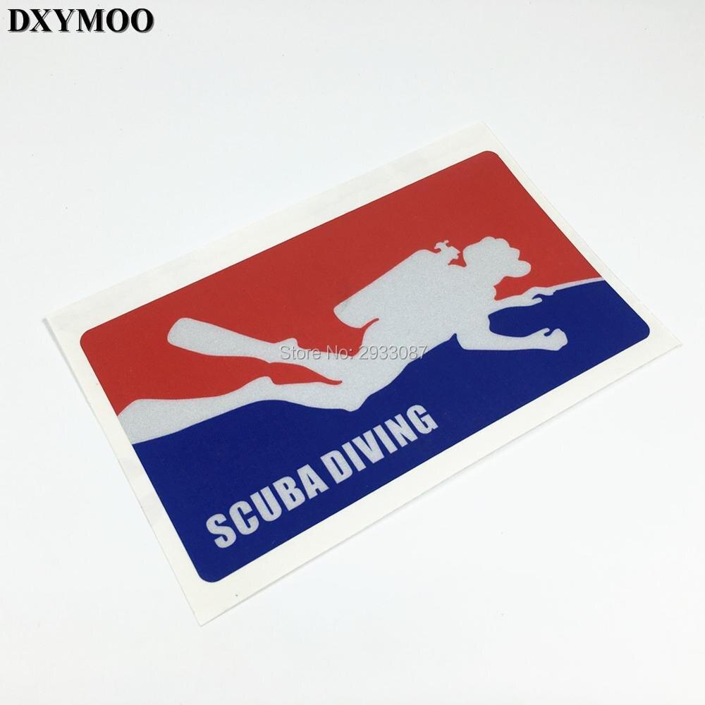 Water Sports Diving Sticker Scube Dive Equipment Funny Car Sticker Decals Vinyl 15cm