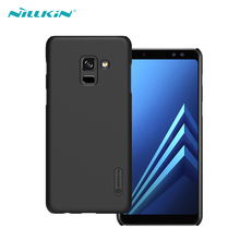 For Samsung Galaxy A8 Plus 2018 Case NILLKIN Super Frosted Shield Matte Hard PC Back Case For Samsung Galaxy A8 2018 Phone Cover стоимость
