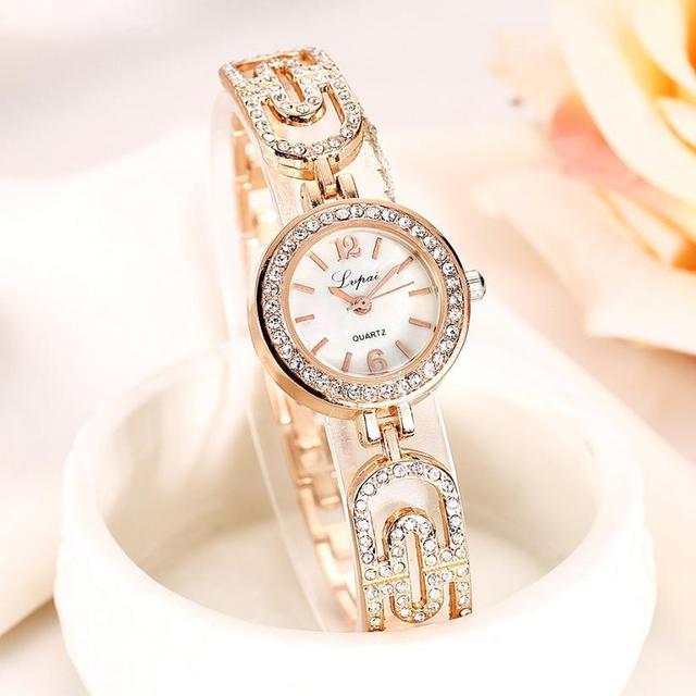 LVPAI New Popular Fashion Watch Women Bracelet Watches Lady Female Dress Classic